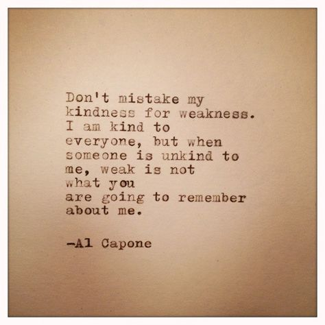 Al Capone Quote Typed on Typewriter by WhiteCellarDoor on Etsy, $9.00