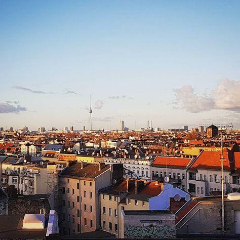 november #sunset in #berlin #november...