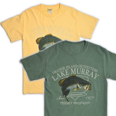 Get your Dreher Island Outfitters shirt from our online park store!  #dreherisland #scstateparks
