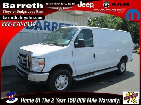 2013 Ford E250 6 455 Miles 22 987 Cargo Vans For Sale