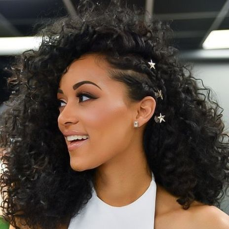 Hairstyles And Hair Color Proposals For Curly Girls Curly Hair