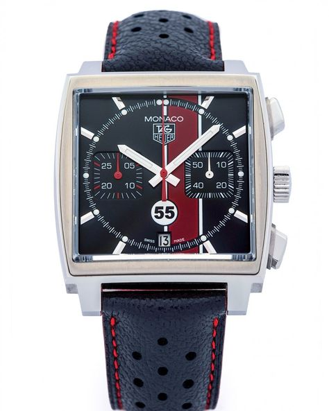 Its to mark the launch of the first Anniversary watch. Well be posting a different modern Monaco reference each day- On Day 25 the Porsche Club of America LE of 55 from 2010 (Ref. Photo by Fancy Watches, G Shock Watches, Expensive Watches, Sport Watches, Luxury Watches, Cool Watches, Watches For Men, Popular Watches, Tag Heuer Monaco