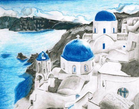 Santorini Greece by silversundrops on DeviantArt