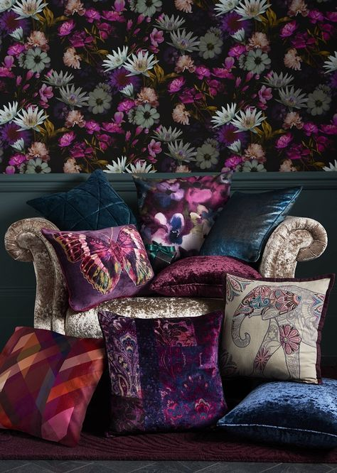 Embrace the dark floral look this autumn