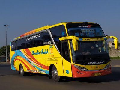 Foto Bus Rosalia Indah Shd389 Modifikasi Mobil Gambar Pariwisata