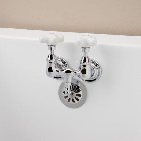 Randolph Morris Down Spout Tub Wall Mount Clawfoot Tub Faucet 3
