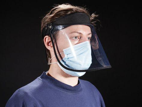 Simple Flip-Top Face Shield ID: 4609 - $9.95 : Adafruit Industries, Unique  fun DIY electronics and kits