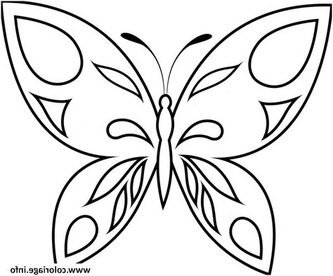 8 Lunatique Coloriage Papillon Maternelle Photograph En 2020