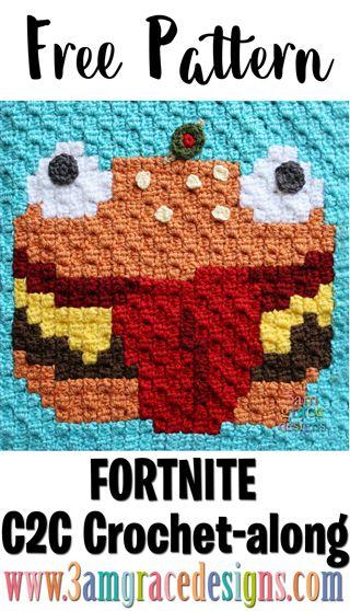 Fortnite C2c Crochet Along Week 14 Free Crochet Pattern C2c