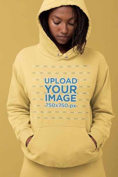 Download Placeit Hoodie Mockup Of A Woman Looking Down Clothing Mockup Hoodie Mockup Woman Looking Down