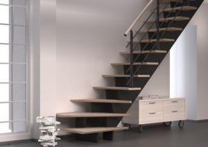 Les Escaliers Droits Et Tournants En Valchromat Escalier Design