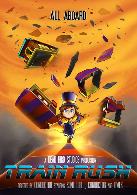 Cute As Heck Platformer A Hat In Time Comes To Ps4 This Fall A Hat In Time Hat In Time Art Hat In Time