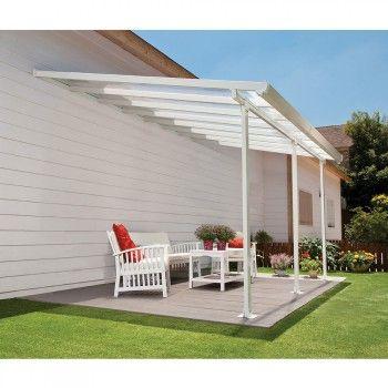 Toiture Transparente Pour Terrasse Avec Cadre En Aluminium Patio Canopy Glass Porch Large Backyard Landscaping