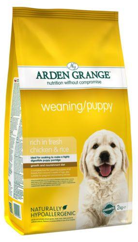 Arden Grange Weaning Puppy Complete Dog Food 6kg Dogfood Pets