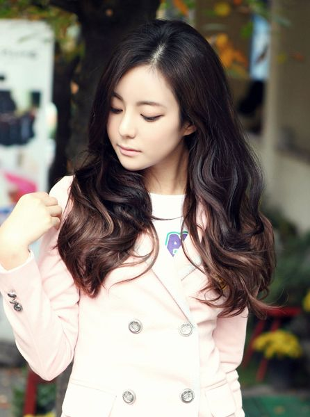 Korean Long Haircut 2013 Black Hairstyle In 2020 Korean Hairstyles Women Korean Hairstyle Hair Styles
