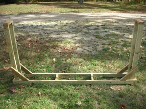 Firewood Rack Plans - Build Your Own Firewood Rack
