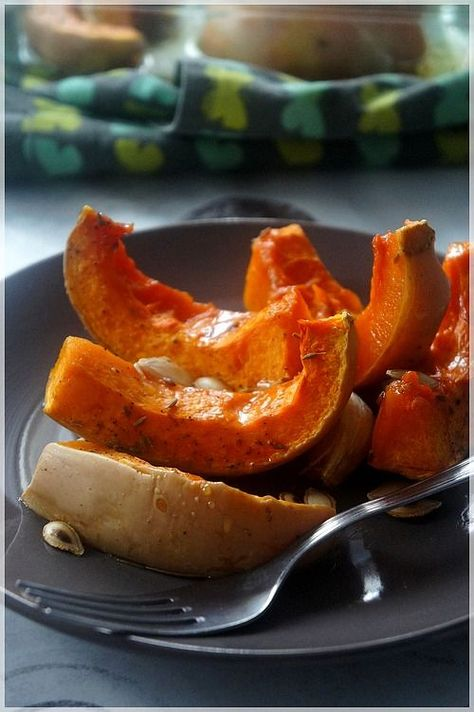"courge butternut rôtie au sirop d'érable .................. #GlobeTripper® | https://www.globe-tripper.com | ""Home-made Hospitality"""