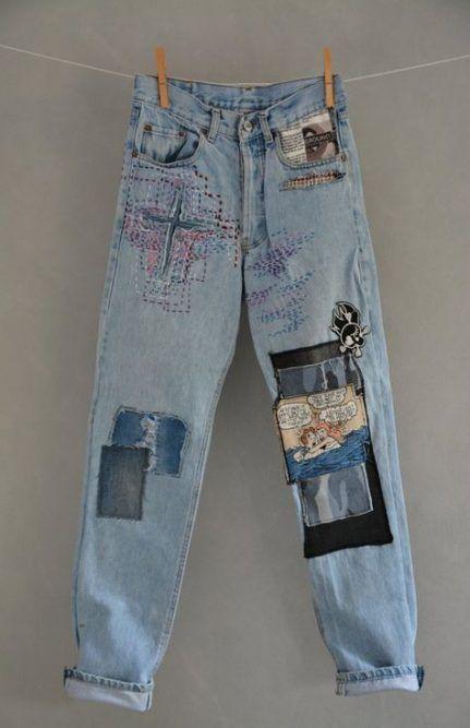 Vintage Tumblr Outfits Boyfriend Jeans 47 Best Ideas Vintage Jeans Hipster Jeans Grunge Jeans