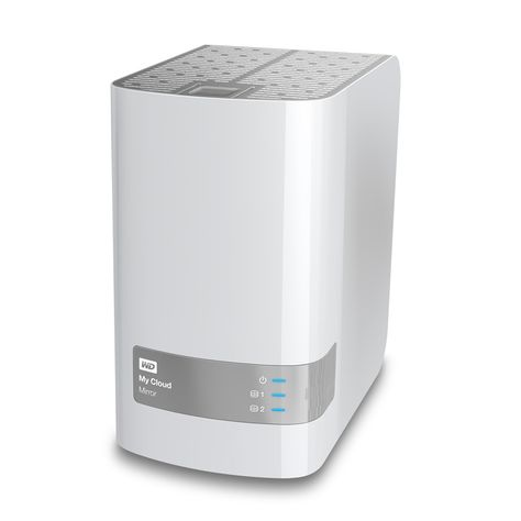 Review Wd Mycloud Mirror Personal Cloud Storage Storage Nas Network Attached Storage Venetian Mirrors
