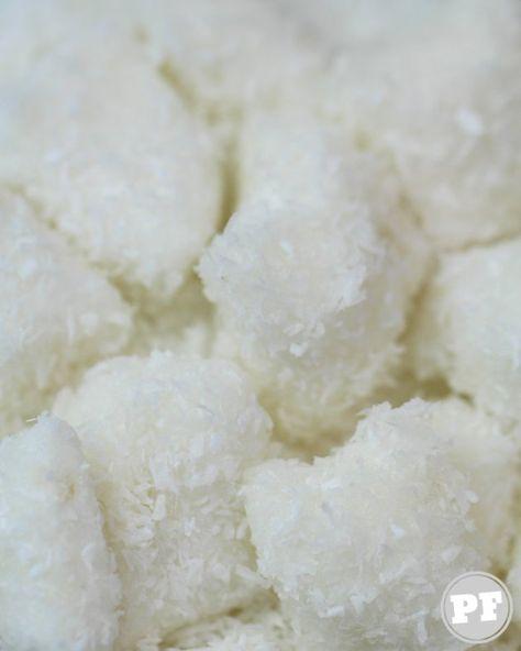 Bala De Coco Tradicional E Gelada Receita Balinha De Coco