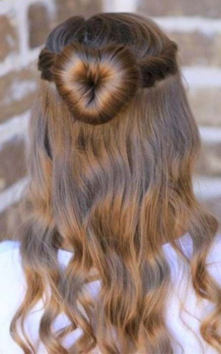 37+ Fille cheveux coiffure inspiration