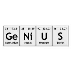 Genius chemistry periodic table words elements poster zazzle com brilliantly illustrated periodic table shows the role elements play in everyday life Chemistry Quotes, Chemistry Tattoo, Chemistry Posters, Chemistry Lessons, Science Chemistry, Science Art, Chemistry Drawing, Science Fiction, Chemistry Revision