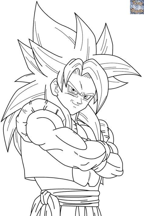 68 Ideas De Dibujos A Lapiz De Goku Dibujos Dibujo De Goku Goku Dibujo A Lapiz