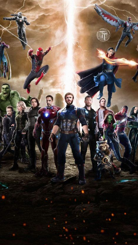 Avengers Together Iphone Wallpaper Iphone Wallpapers Marvel Avengers Movies Avengers Pictures Marvel Superhero Posters Avengers infinity war iphone wallpaper