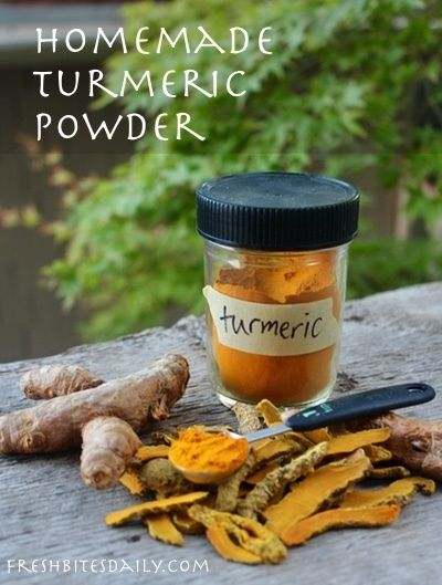 Homemade Turmeric Powder Recipe With Images Turmeric Turmeric Recipes Tumeric Powder