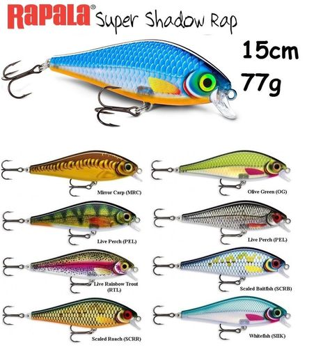 NEW Rapala X-Rap Peto 20cm 83g Various Colours Fishing Large Predator XRPT Lure