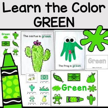 The Color Green Printable Activities Color Of The Week Preschool Color Activities Green Activities Color Activities For Toddlers Green colour theme for preschool