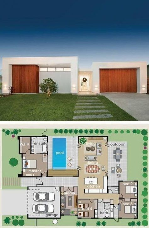 Pin By Otelia Laydalga On Mid Century Modern House In 2020 Pool House Plans Mediterranean House Plans Architecture Plan
