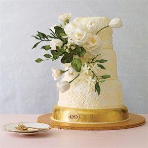 Delicate Lace Cake