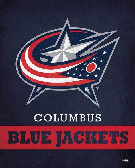 Columbus Blue Jackets Pride Logo