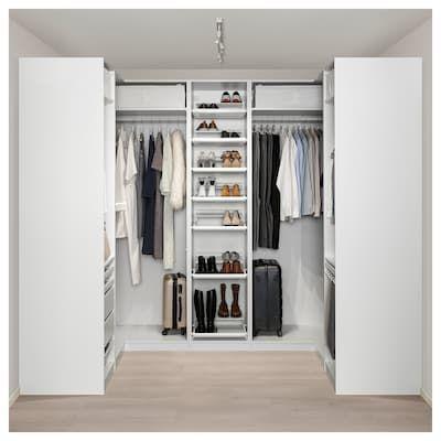Pax Corner Wardrobe Black Brown 82 3 4 107 1 2 82 3 4x93 1 8