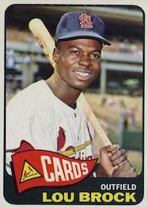 1965 Topps Lou Brock Baseball Card for sale online Baseball Fight, Baseball Star, Baseball Photos, Baseball Wall, St Louis Baseball, St Louis Cardinals Baseball, Stl Cardinals, Baseball Card Values, Baseball Cards For Sale