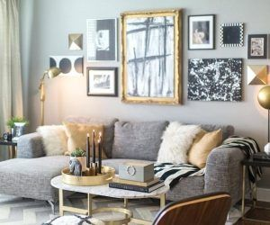 Interior Black And Gold Home Decor Modern White Living Room Take Over Or Regarding 24 From Black And Gold Gold Living Room Silver Living Room Living Room Grey