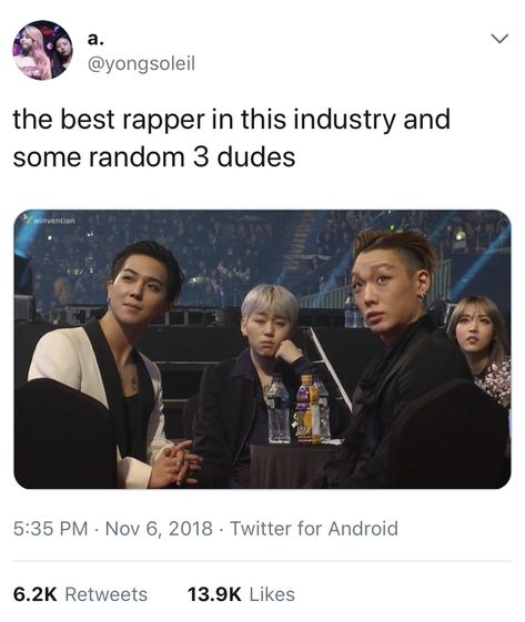 This is just a joke and i respect all the artists in this photo, but this is too good not to pin lol