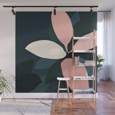 Buy Plant 111 Wall Mural By Julestillman Worldwide Shipping