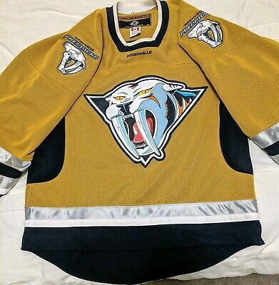 nashville predators mustard jersey