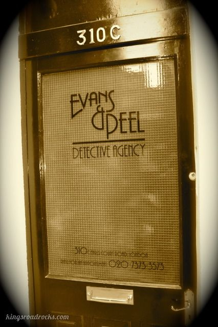 Evans and Peel Detective Agency, Speakeasy Bar in London. #cocktails