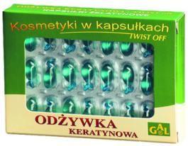 ODŻYWKA KERATYNOWA // Doskonały kosmetyk do pielęgnacji paznokci, brwi i rzęs. Głównymi jego składnikami są: kompozycja NNKT, witaminy A i E oraz olejek z drzewa herbacianego. Ma właściwości antyseptyczne i kojące, łagodzi m.in. objawy ukąszeń meszek, komarów i kleszczy. Zawarte w preparacie witaminy A i E wykazują właściwości ochronne i pielęgnacyjne dla komórek wzrostowych włosów, paznokci i naskórka. http://www.gal.com.pl/produkty/kosmetyki/odzywka-keratynowa.html