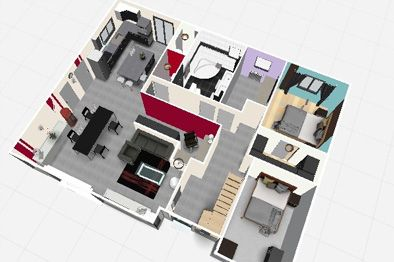 Plan Maison 150m2 Gratuit Tunisie Plan Maison 12 10
