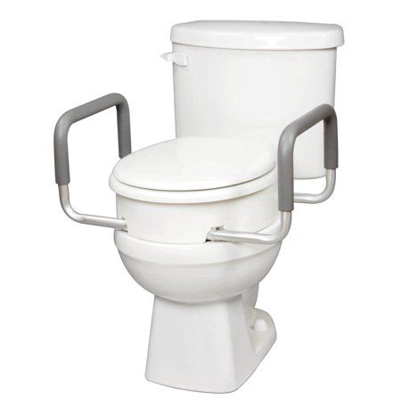 Drive Raised Toilet Seat 12013 Medical Supply Storage Medical