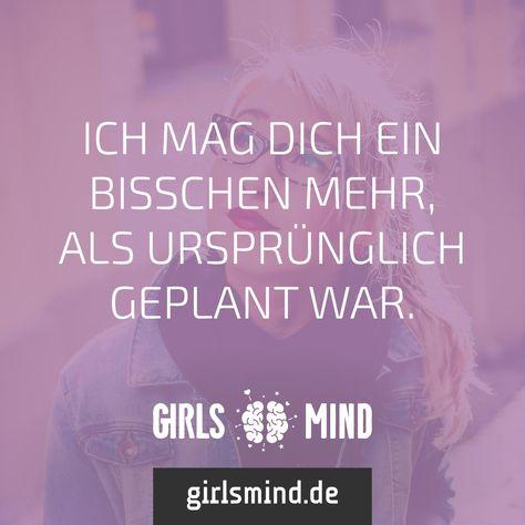 Mehr Sprüche auf: www.girlsmind.de  #mögen #verliebt #plan #geplant #liebe #herz