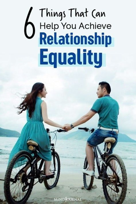Having relationship equality can help both you and your partner build trust, loyalty, and mutual respect, and with time make your relationship unbreakable. #relationshiprules #relationshipadvices