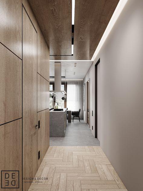 DE&DE/Gorgeous minimalism with wooden accents