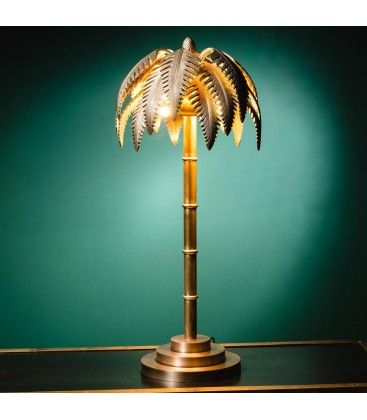 Lampe Palmier En Laiton Lampe Lampen Wohnung