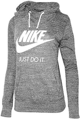 Best Seller Nike Womens Gym Vintage Pullover Hoodie Carbon Heather Sail 823701 091 Online Nike Hoodies For Women Vintage Hoodies Nike Women