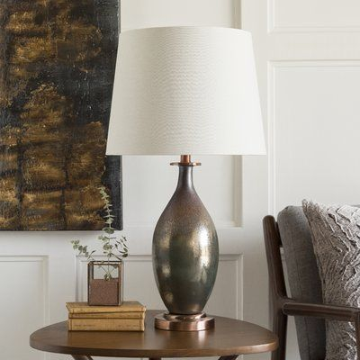 30.25 TABLE LAMP AND SHADE | Minster